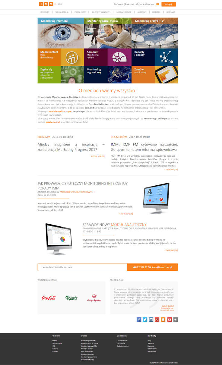 webdesign-IMM-home